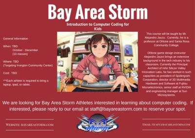Bay Area Storm Computer Coding